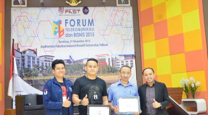 Pembicara Digital marketing di Forum Telekomunikasi dan Bisnis