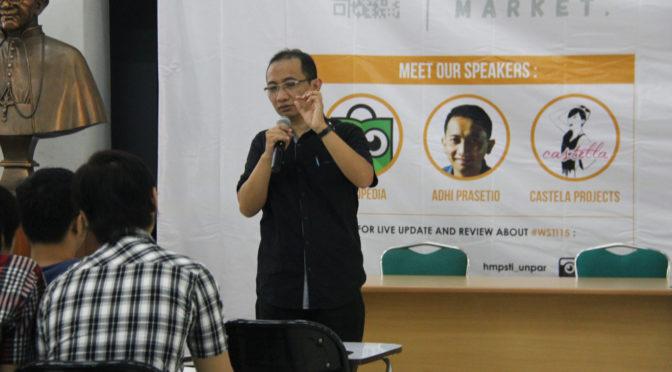 Pembicara Digital Marketing di Universitas Parahyangan (UNPAR) Bandung