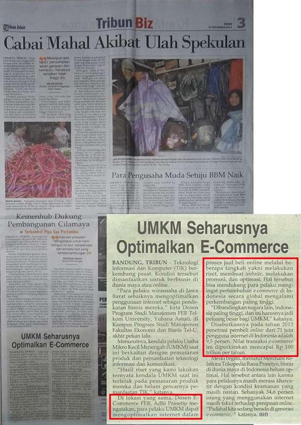 Liputan Pembicara Digital Marketing di Tribun News