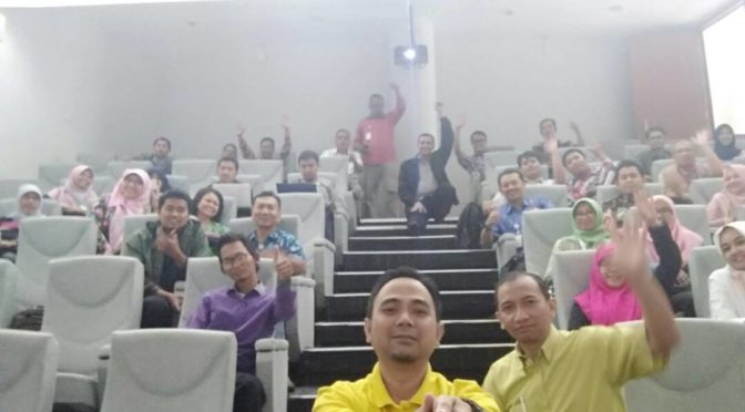 Pembicara DIgital Marketing di Bandung Techno park